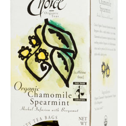 CHAMOMILE SPEARMINT WITH BERGAMOT
